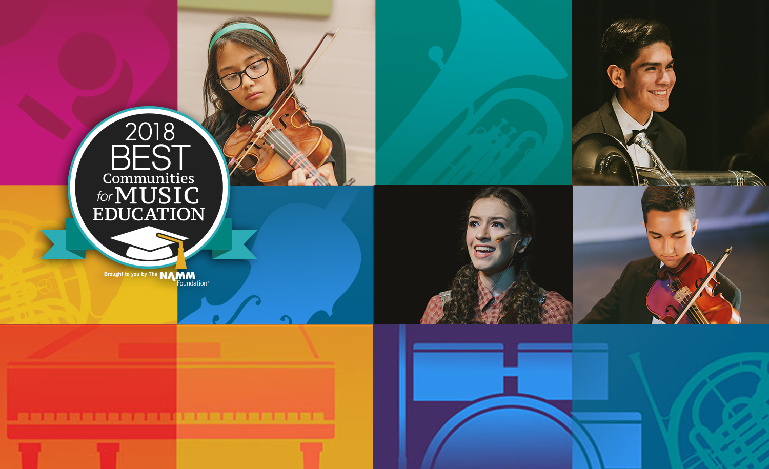 HCISD's Music Education Program receives national recognition