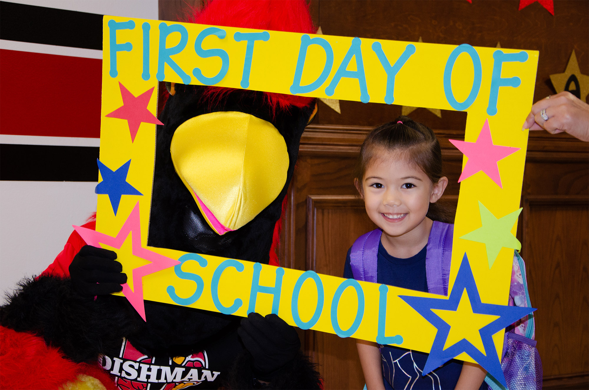 HCISD's first day of 2018-2019 school year
