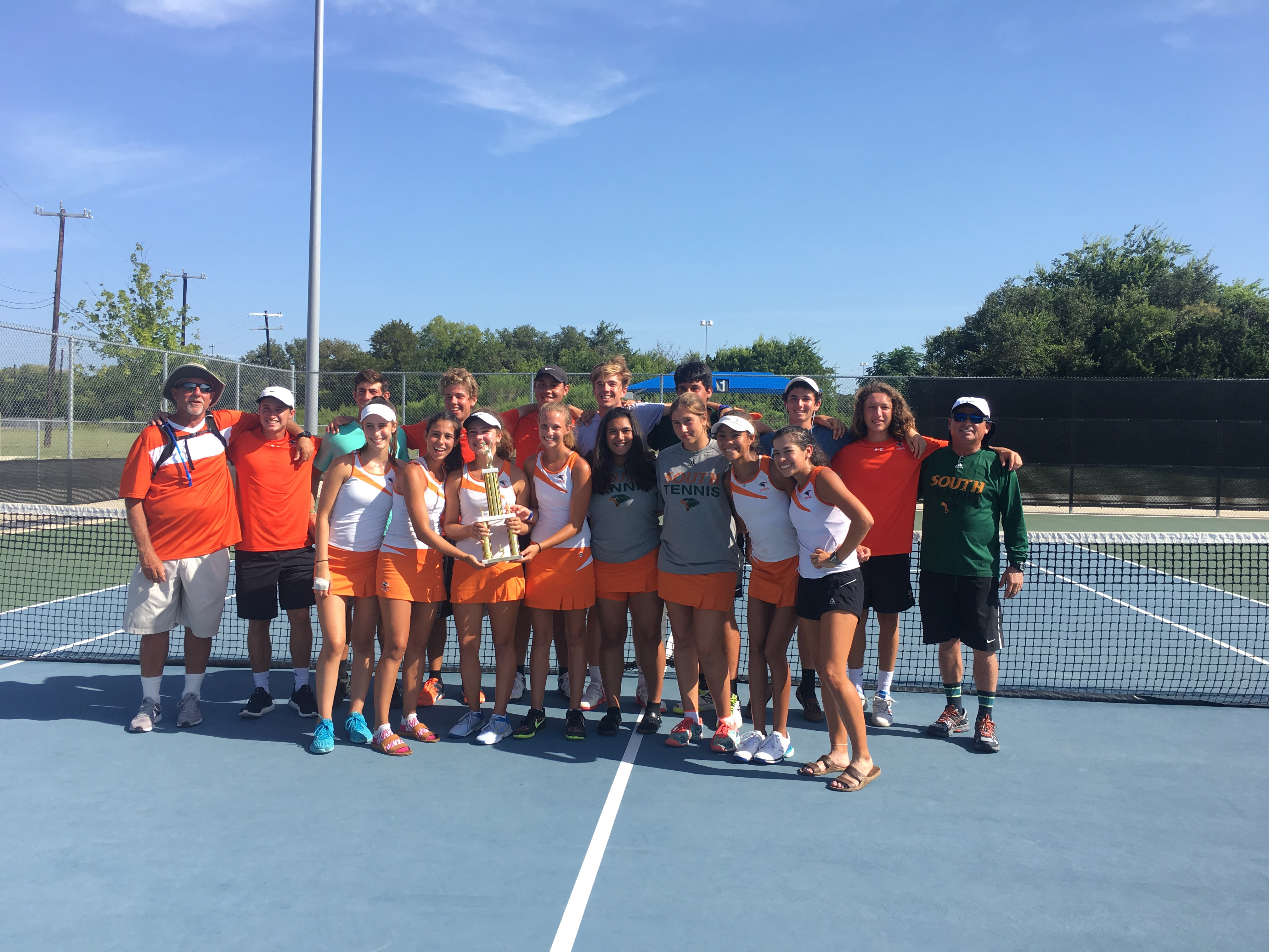 Hawk tennis off to a winning start