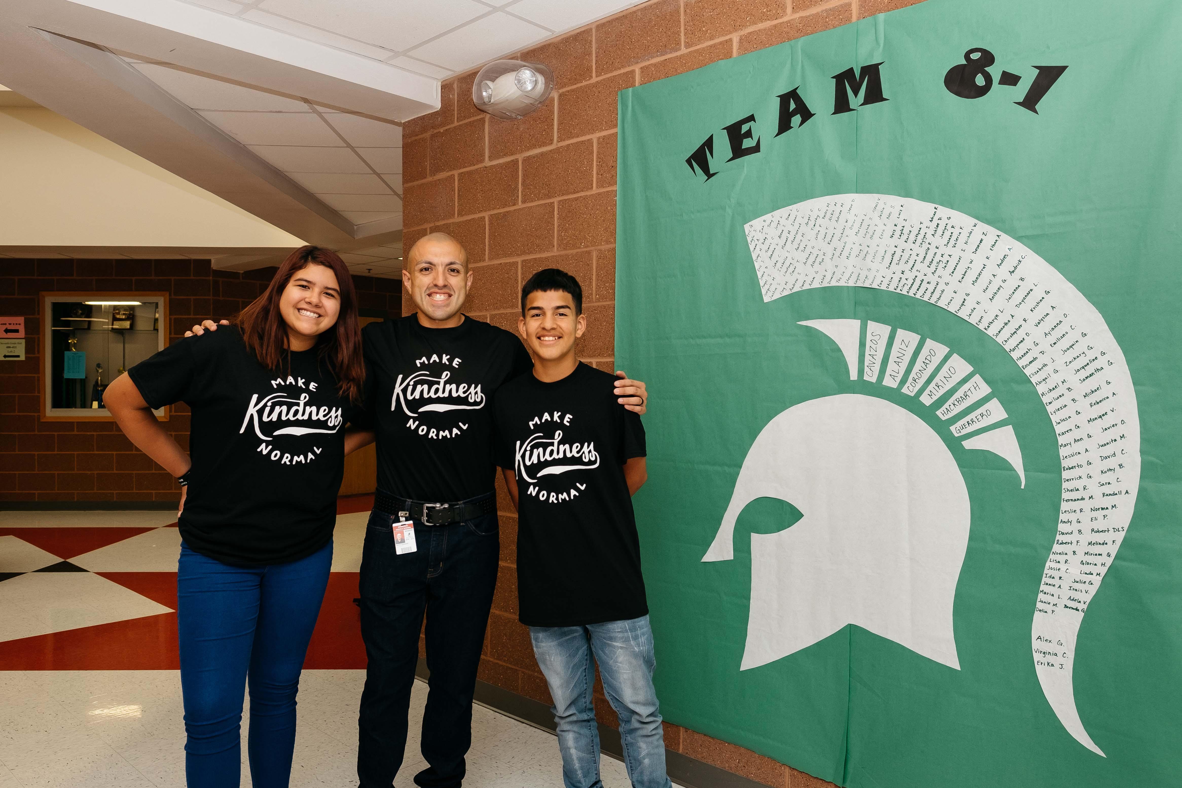 Los programas de carácter promueven amabilidad entre los alumnos de secundaria.