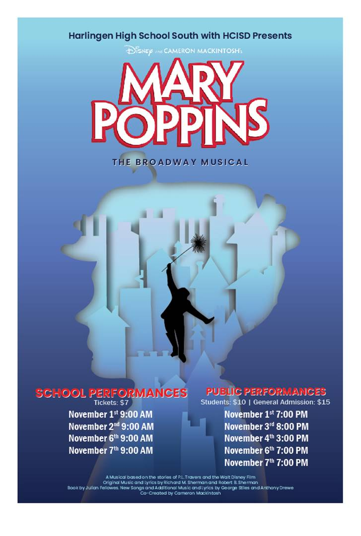 Harlingen CISD presents Mary Poppins