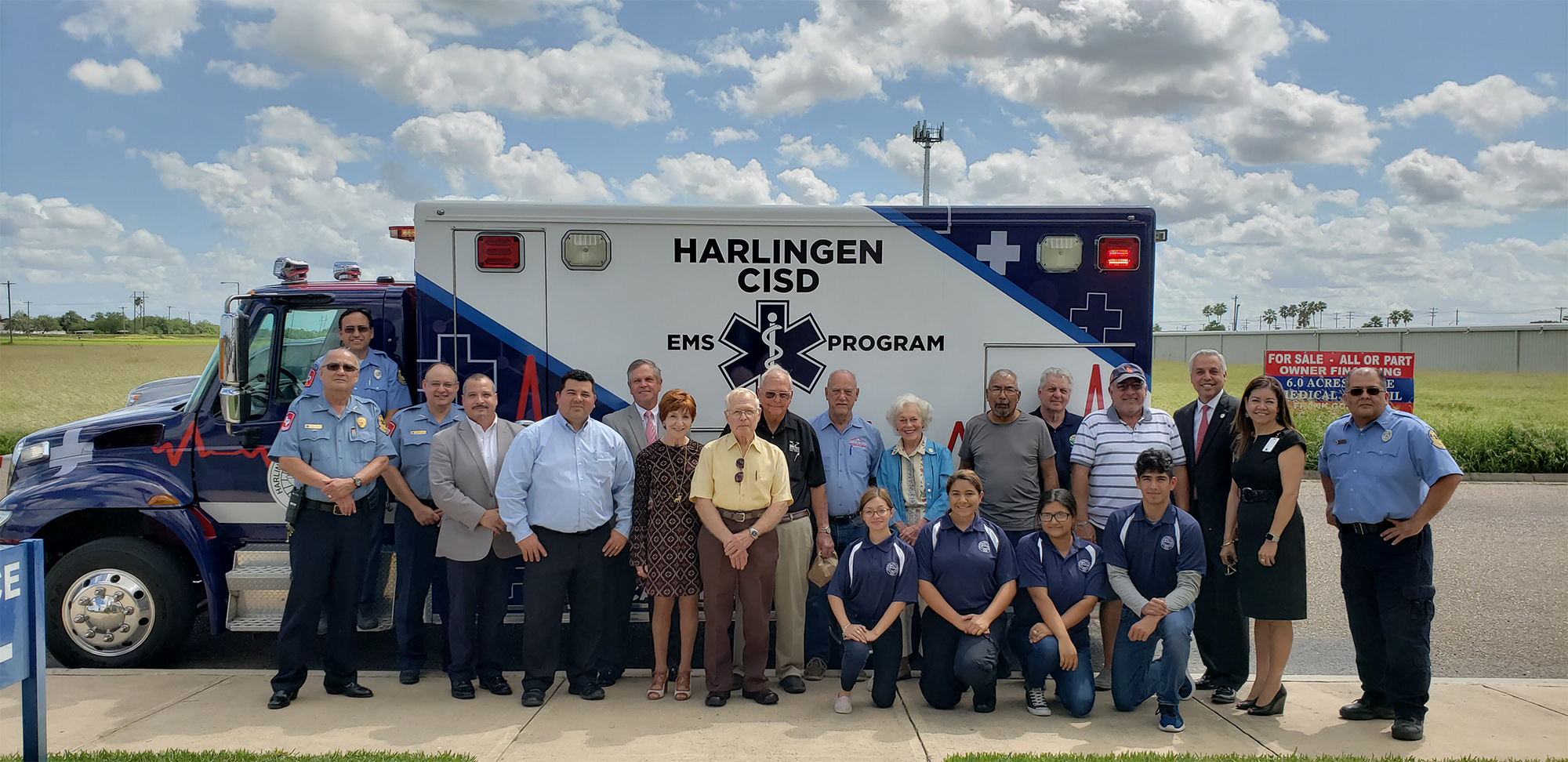 HCISD Academies: Students get hands-on experience with EMS training ambulance