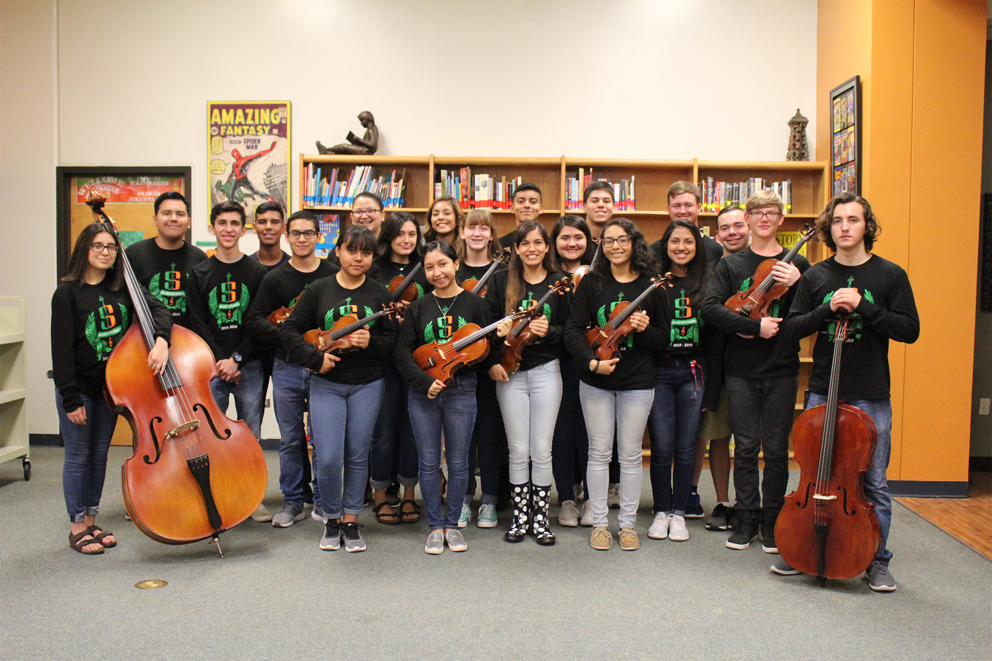 HCISD orchestras continue tradition of excellence at All-Region auditions
