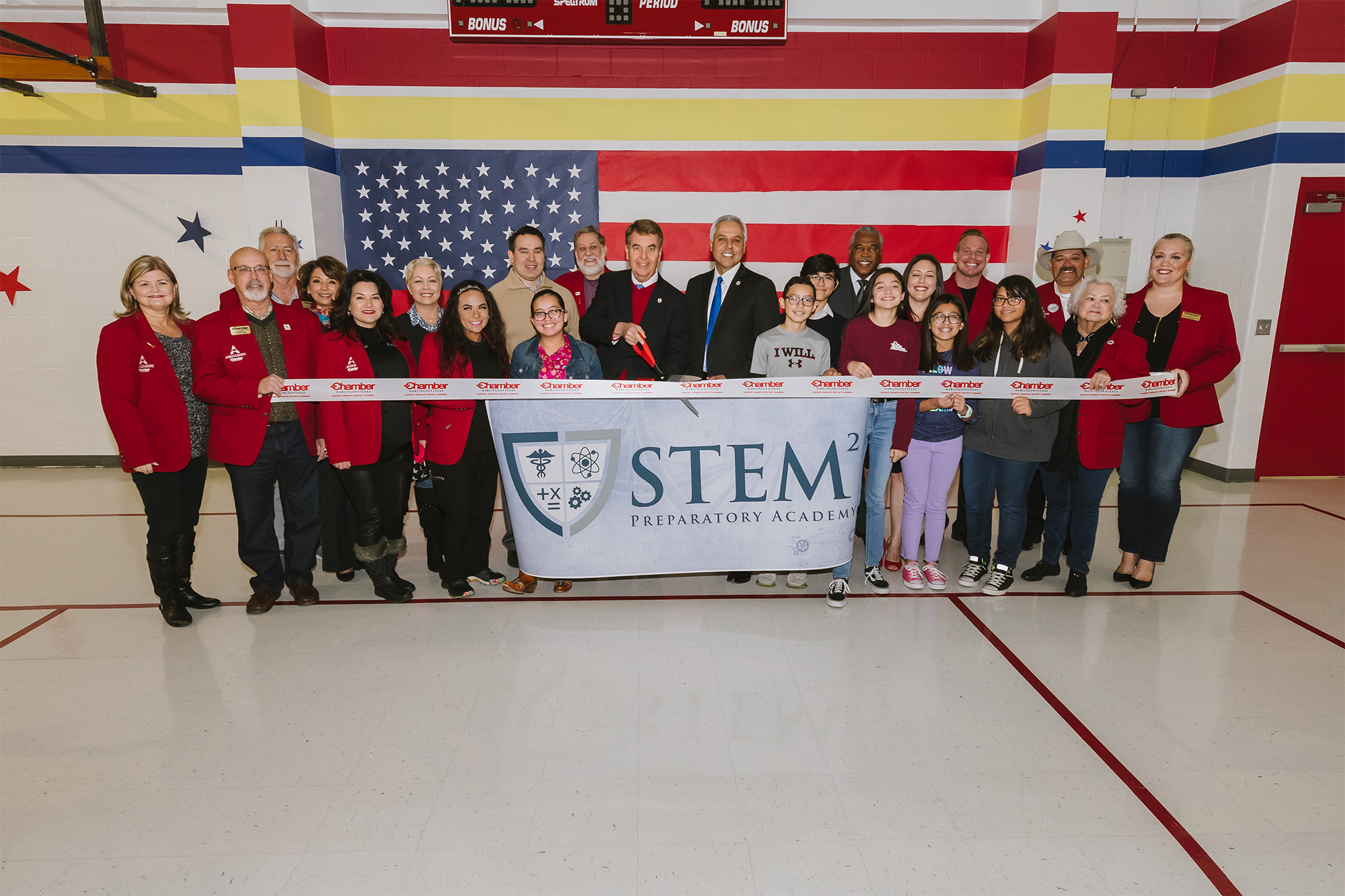 HCISD celebrates STEM² Ribbon Cutting Ceremony