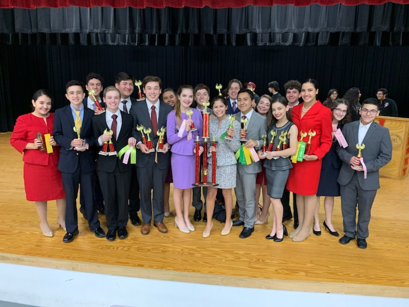 Harlingen South Speech and debate takes sweeps at Juarez-Lincoln tournament