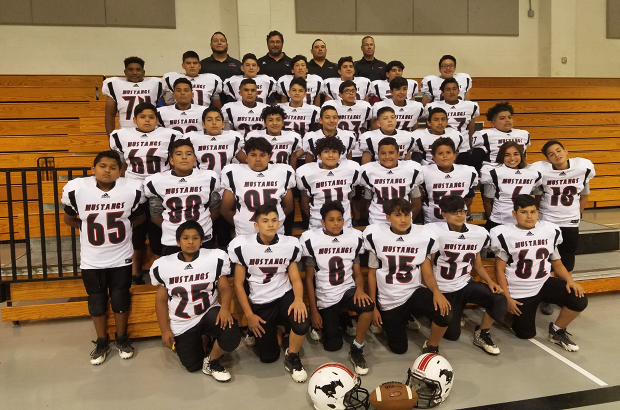 MS football teams named district champions