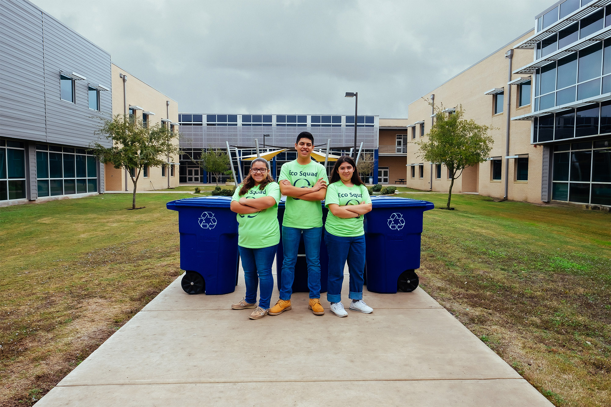Cano Eco Squad collects over 1,300 pounds of recyclable materials