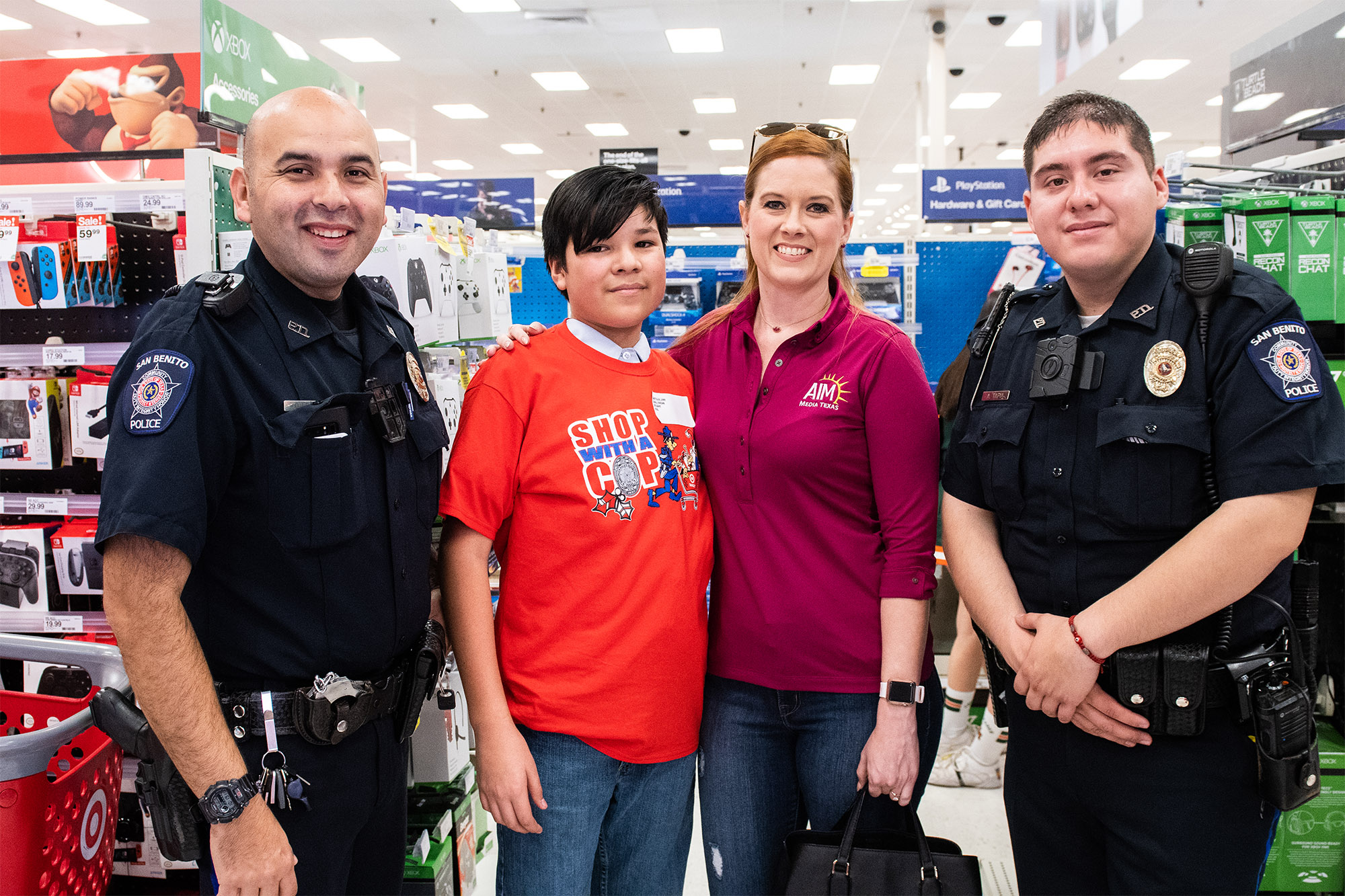 HPD celebrates the season of giving with fourth annual Shop With a Cop