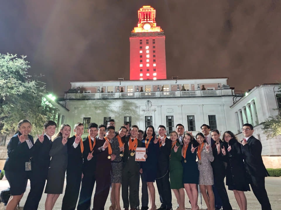 Speech and debate teams make their mark at Longhorn Classic