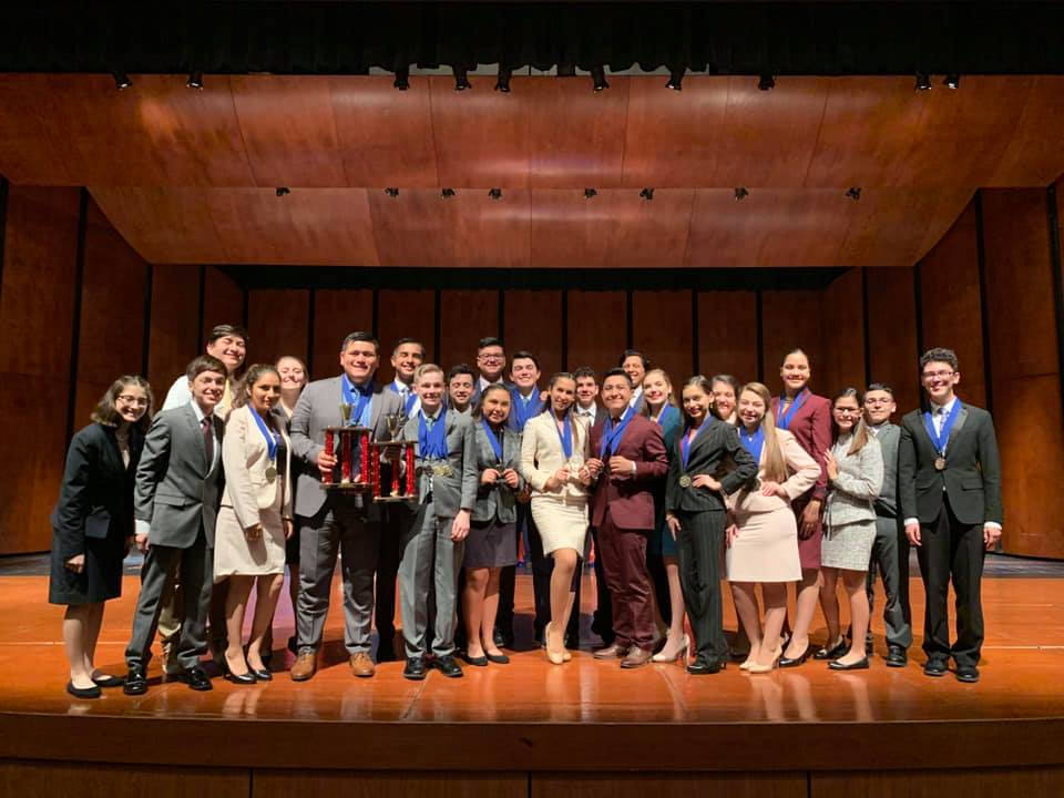 HHSS and HHS speech teams take top spots at Alief Taylor tournament