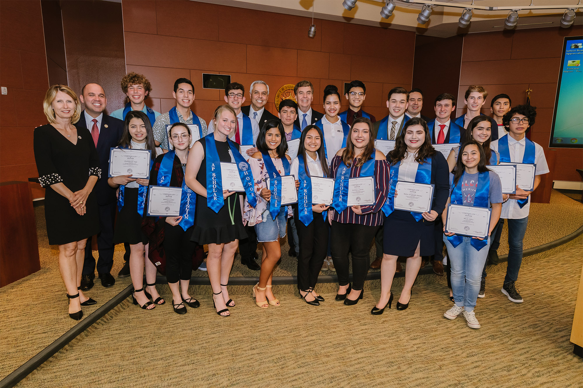 HCISD recognizes 2018 Scholars