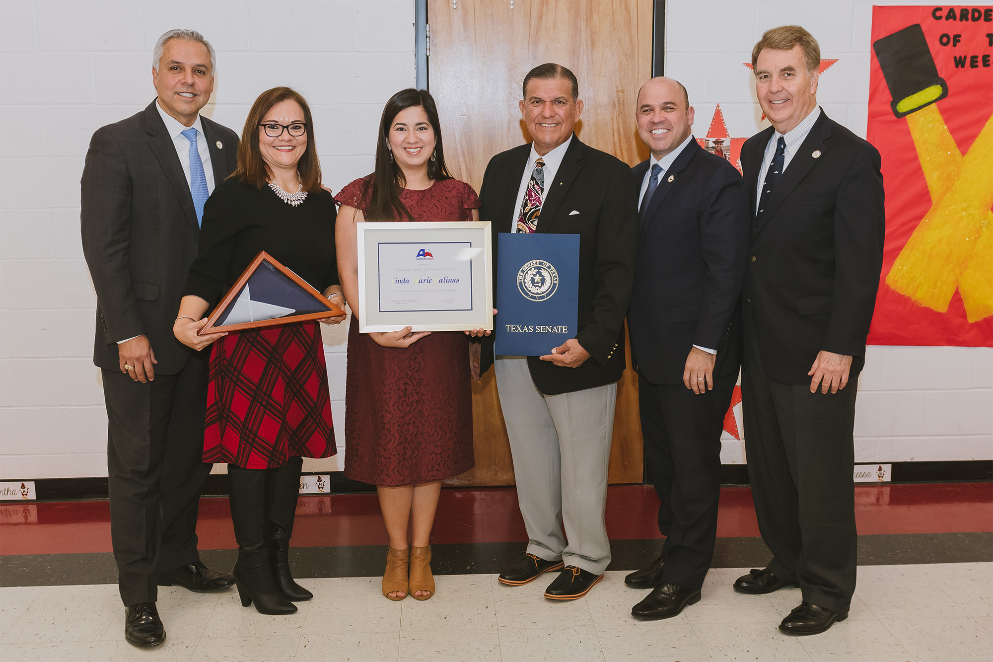HHS teacher honored by Humanities Texas for her contributions to student learning