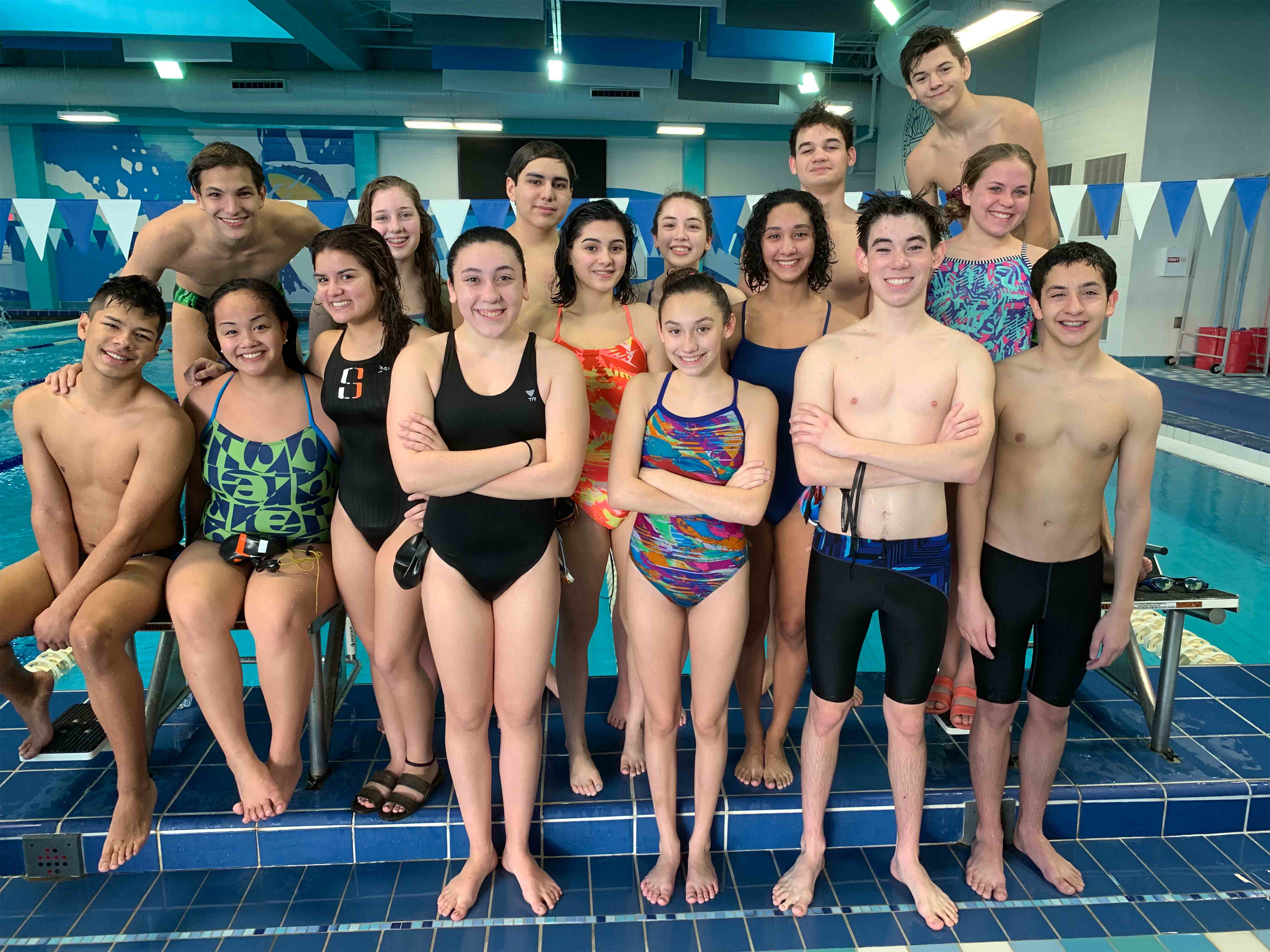 Making waves: HS swimmers advance to Regionals