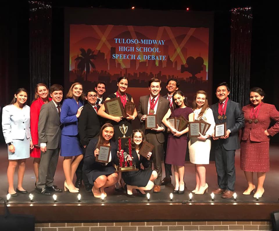 Harlingen South Speech sweeps Tuloso-Midway Tournament