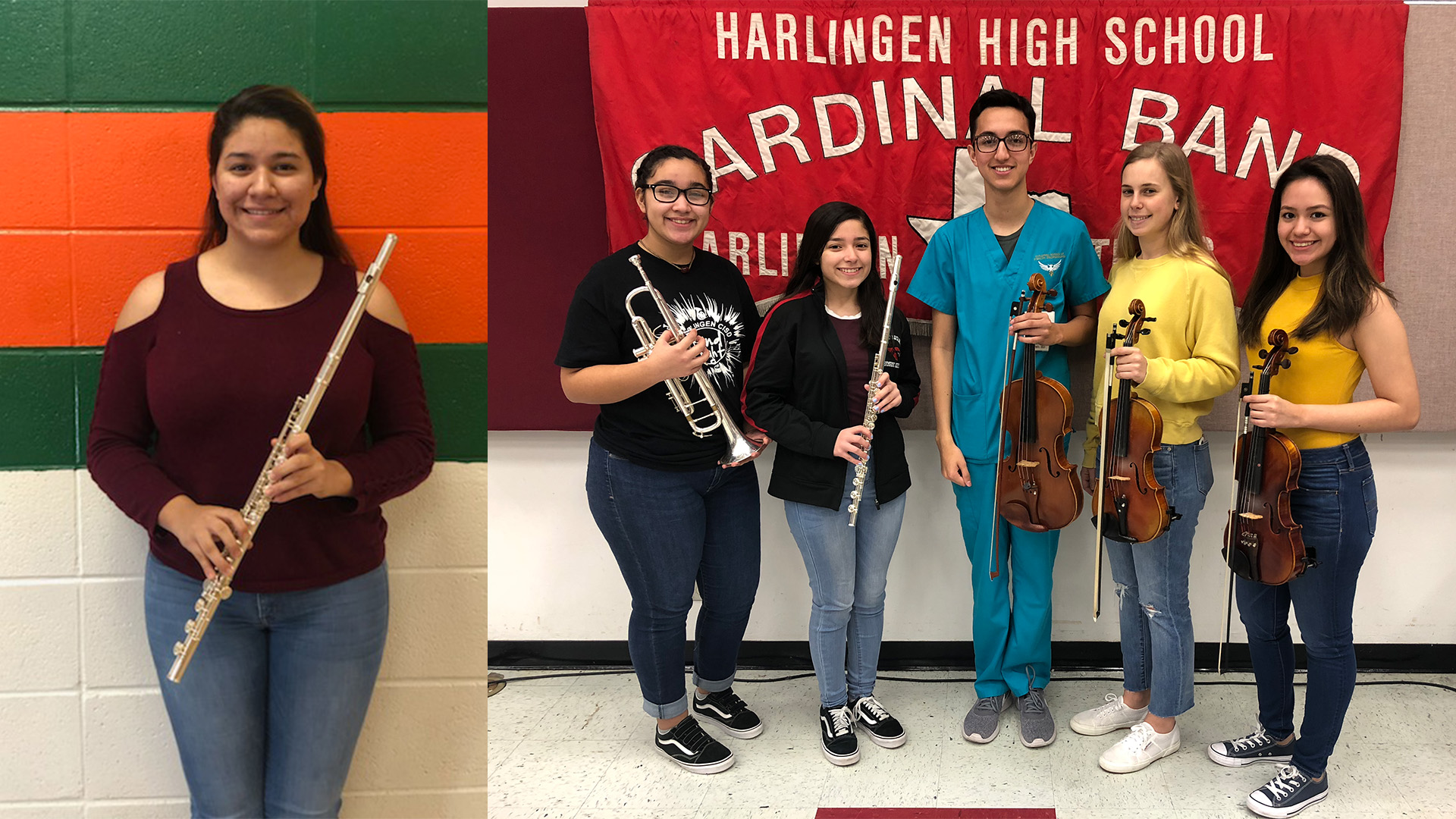 HCISD students awarded chairs in TMEA regional mariachi group