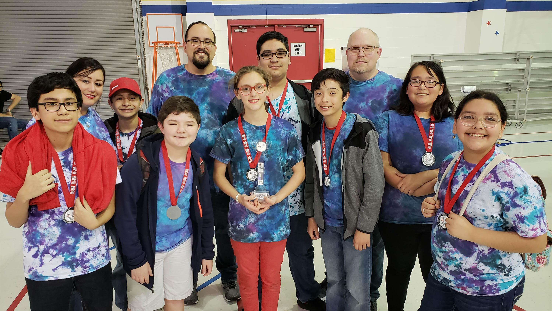 Vernon Middle School Robotics Team Advancing to Regional Championship