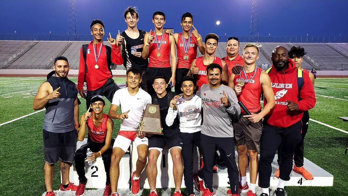 HHS boys athletes stay on track to capture consecutive area championship