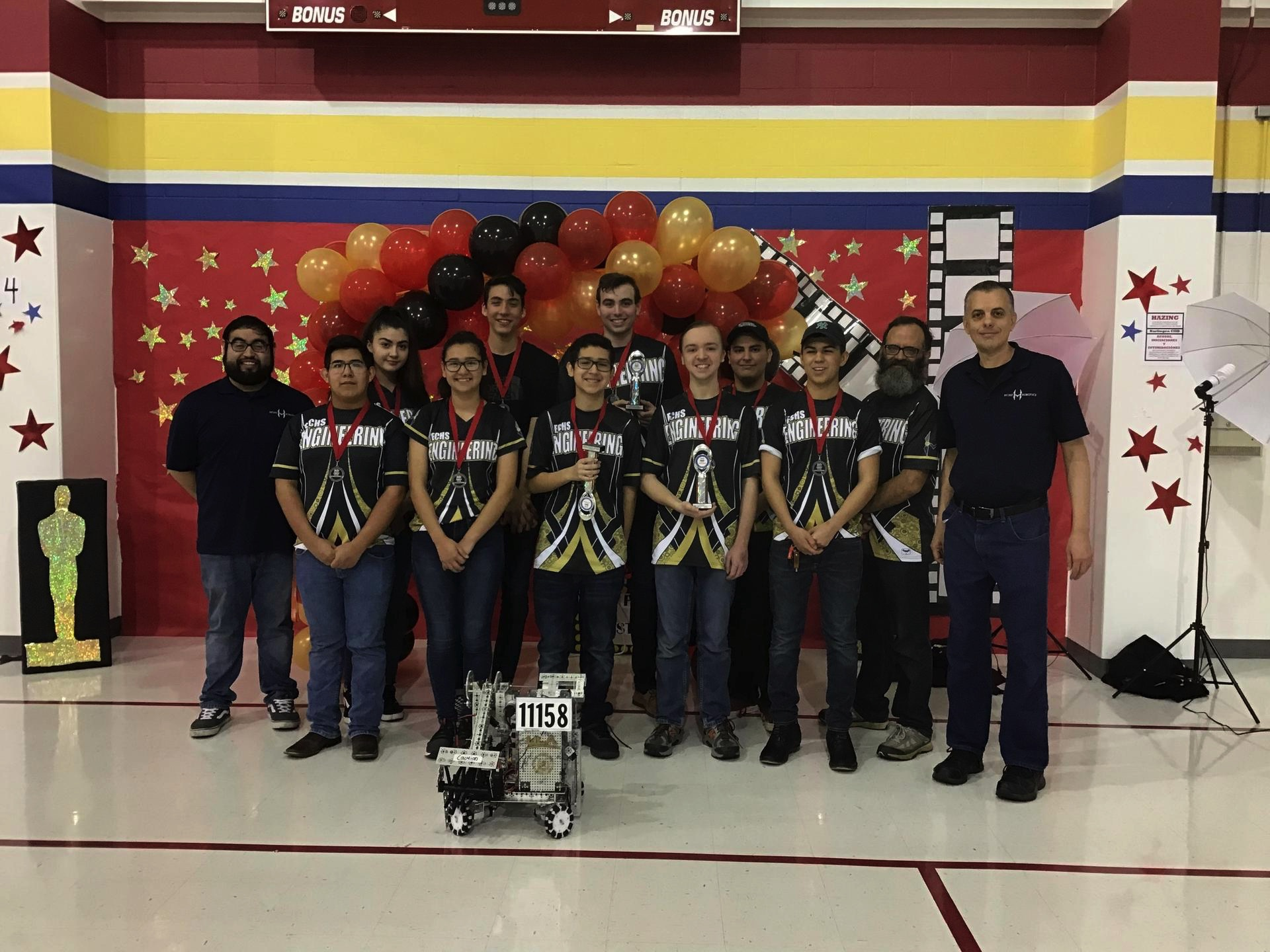 ECHS Teams Advance to State Robotics Competition