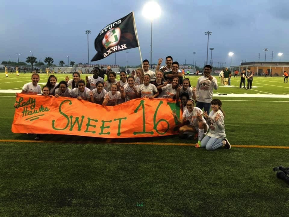 Lady Hawks soccer set for Sweet 16 playoff match