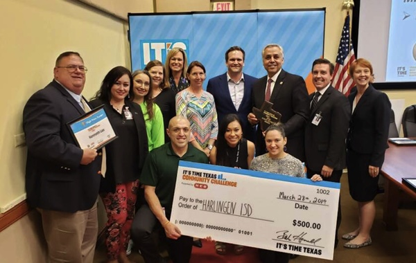 Harlingen CISD, city take home top prize in health challenge