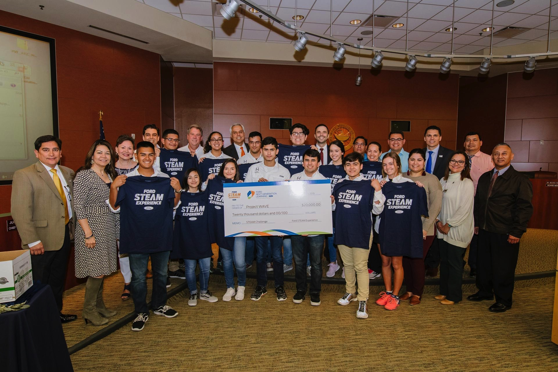 National win brings big money to HCISD engineering teams