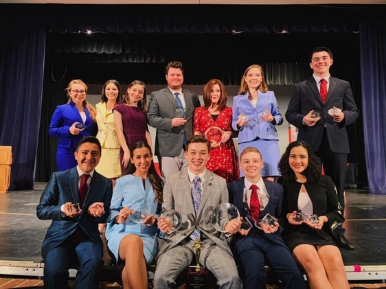 Harlingen High School, Harlingen South students shine at national speech tournament