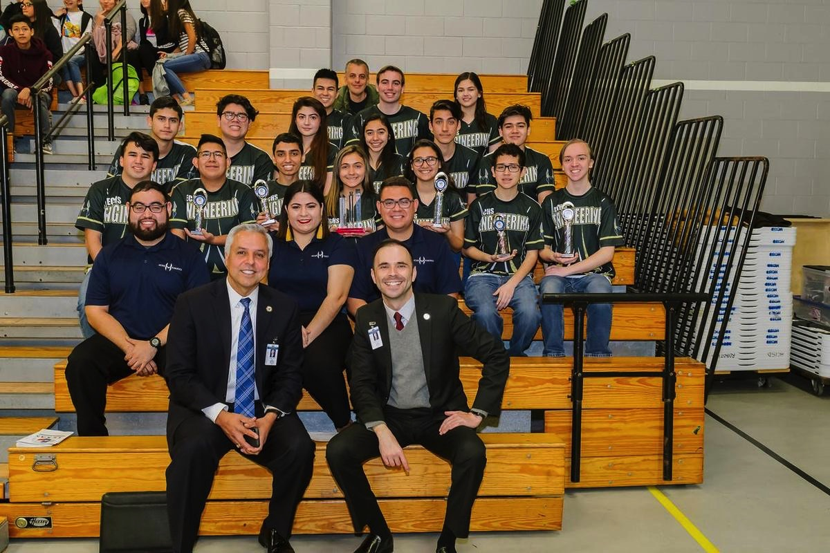 ECHS Robotics teams Advance to World Championship