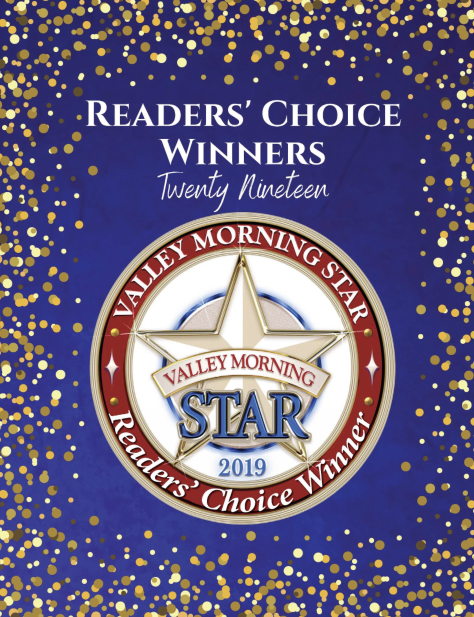 HCISD obtiene siete reconocimientos del Valley Morning Star Reader's Choice.
