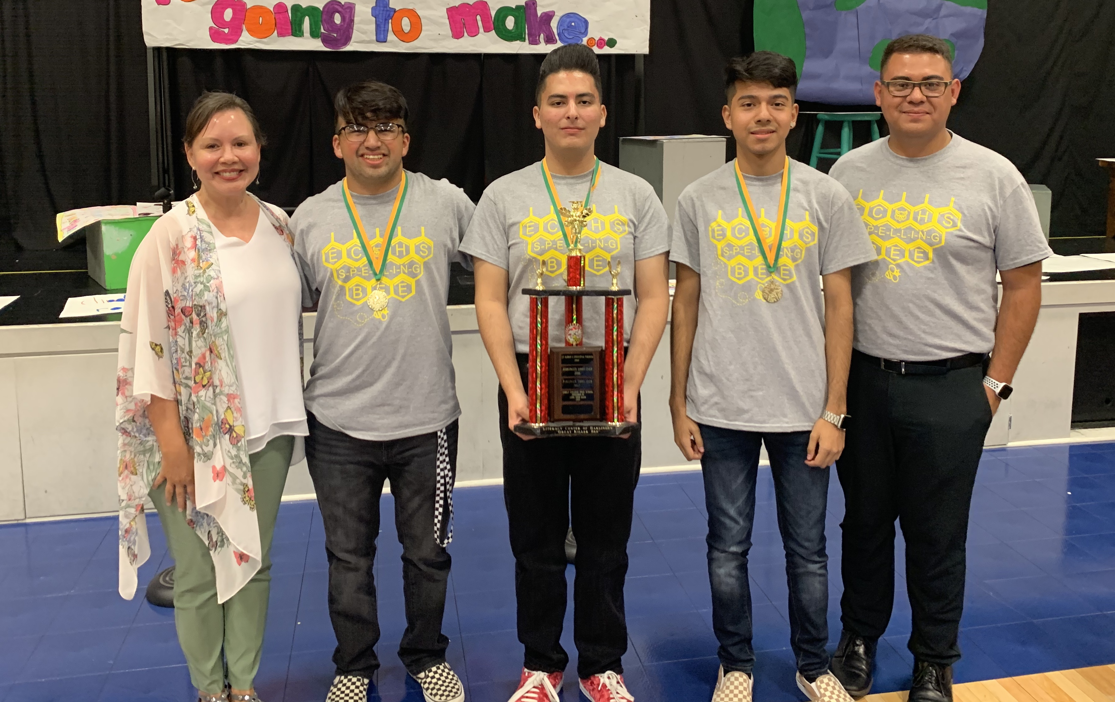 ECHS wins spelling bee competition