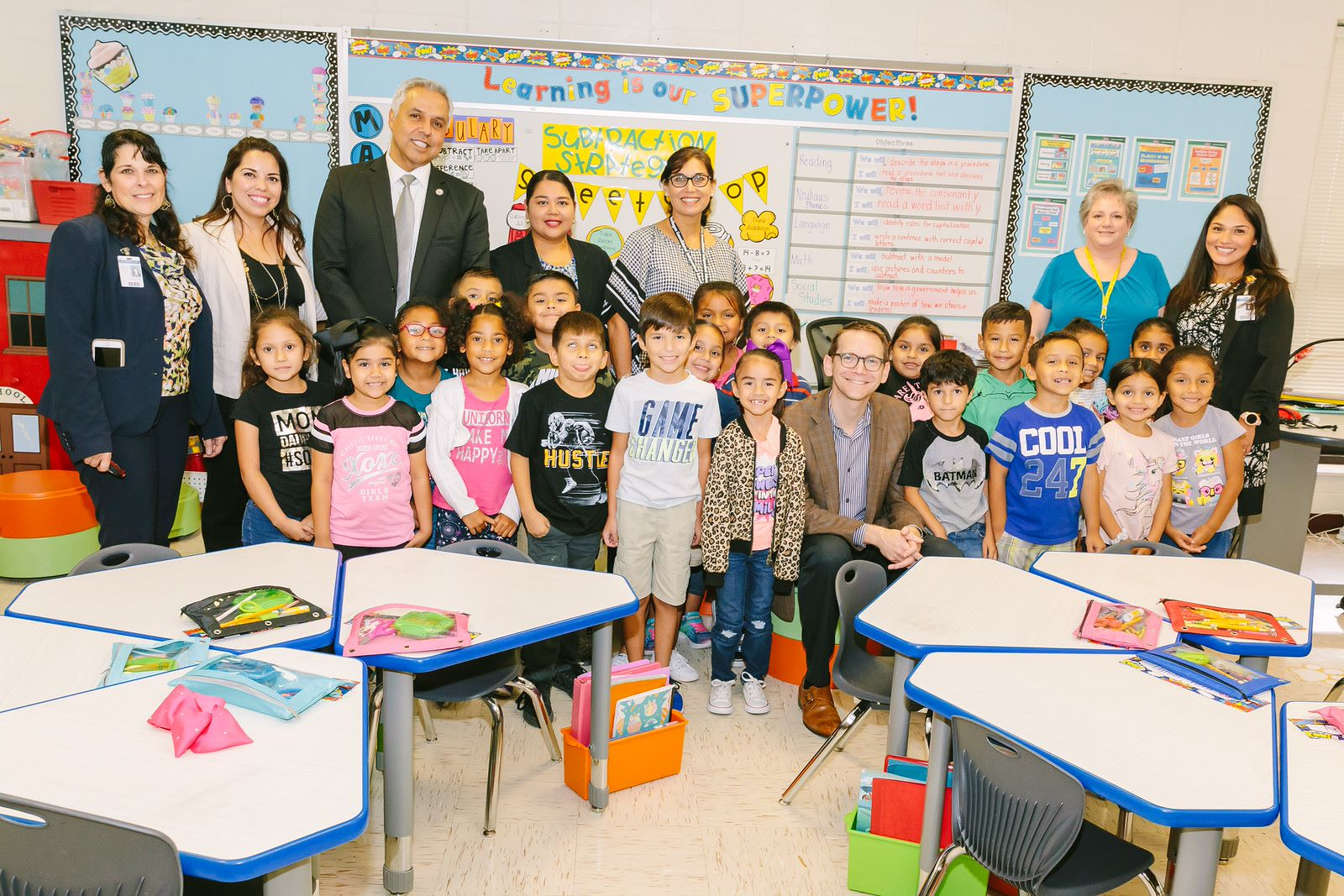 TEA commissioner visits HCISD