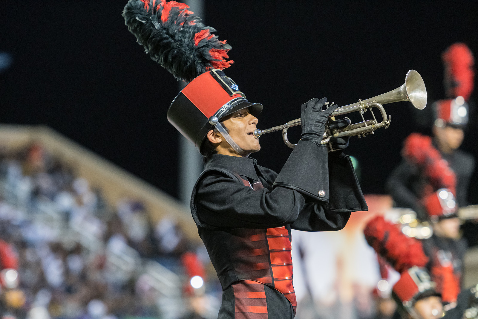 Cardinal, Hawk bands earn superior ratings at Pigskin