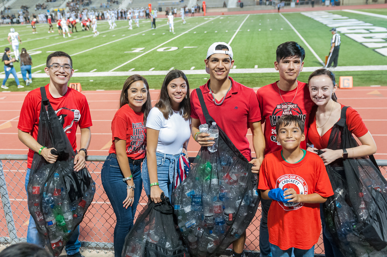 HCISD students create first-of-its-kind recycling program