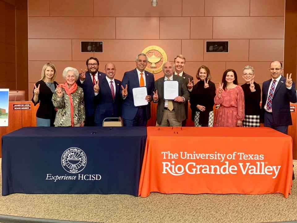 HCISD avanza con el nuevo campus de la Escuela Preparatoria Early College.