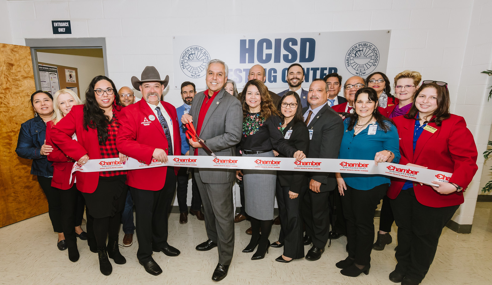 HCISD unveils new testing center