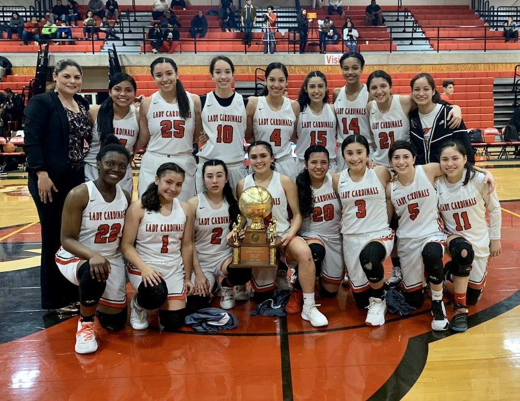 Lady Cardinals basketball secures another district championship