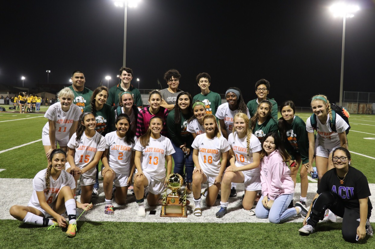Lady Hawks soccer scores district championship