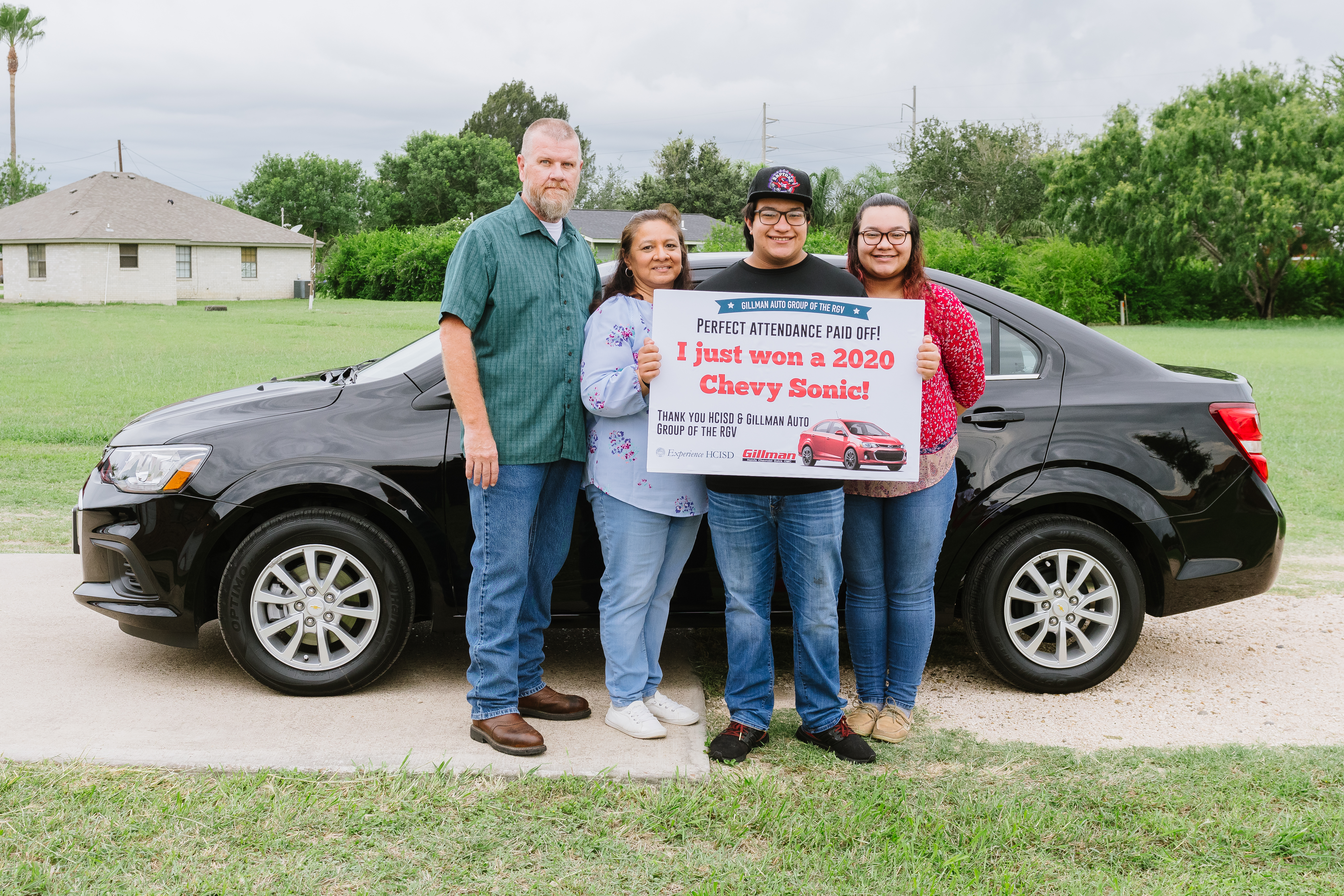 Celebrating perfect attendance: Gillman Auto Group partners with HCISD for car giveaway
