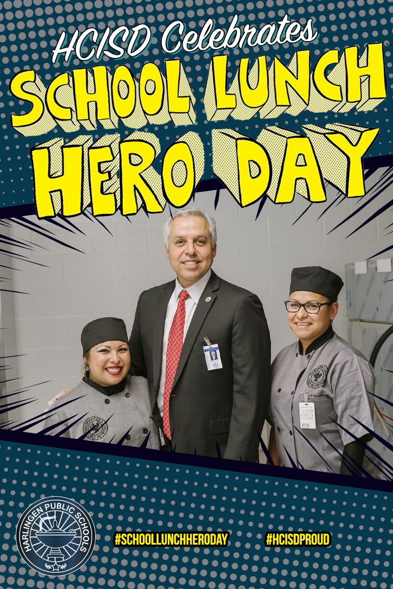 School Lunch Hero Day at HCISD