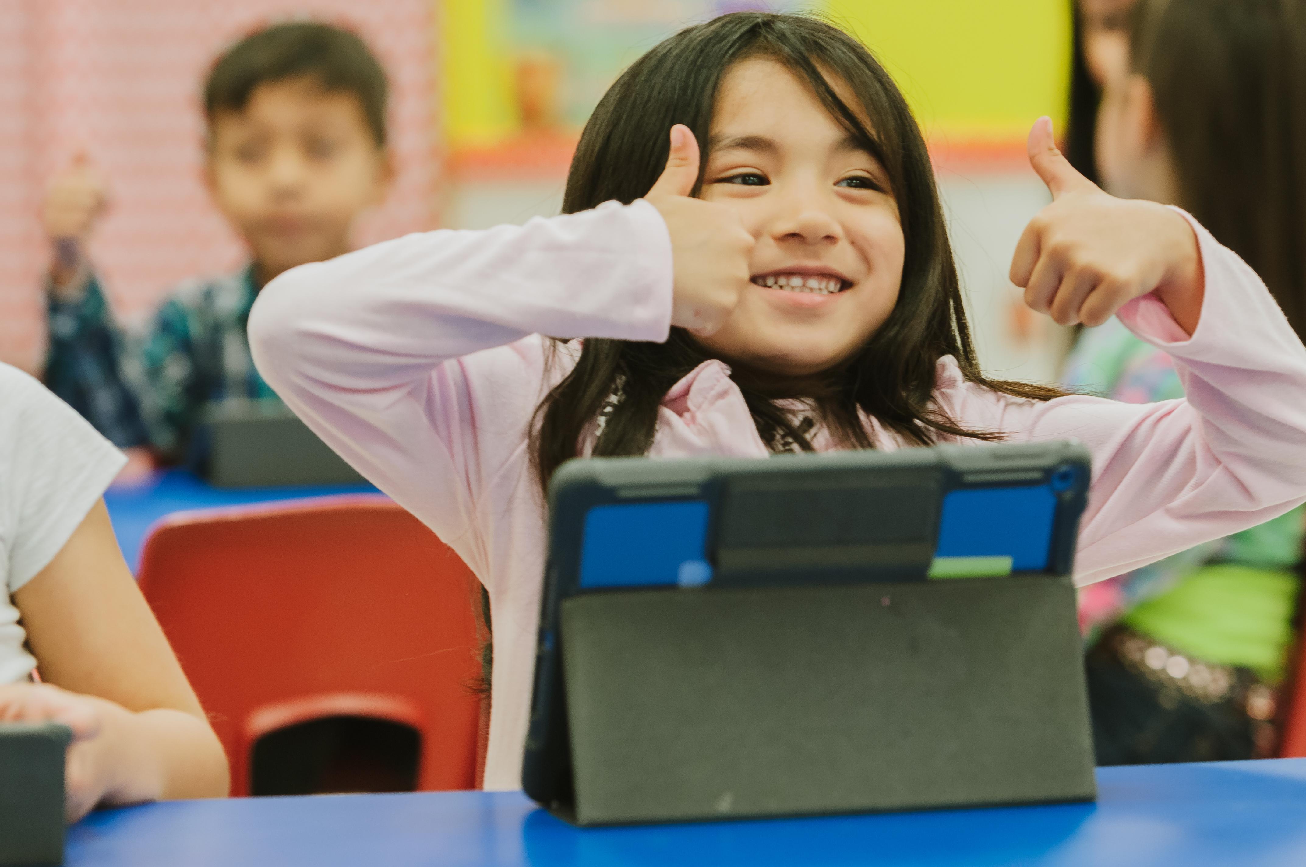 HCISD escoge Seesaw como la plataforma de aprendizaje para el nivel primaria.