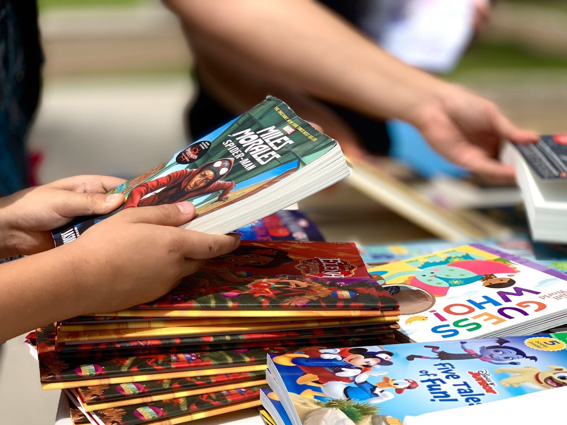 HCISD promotes summer reading with Books2Go Program