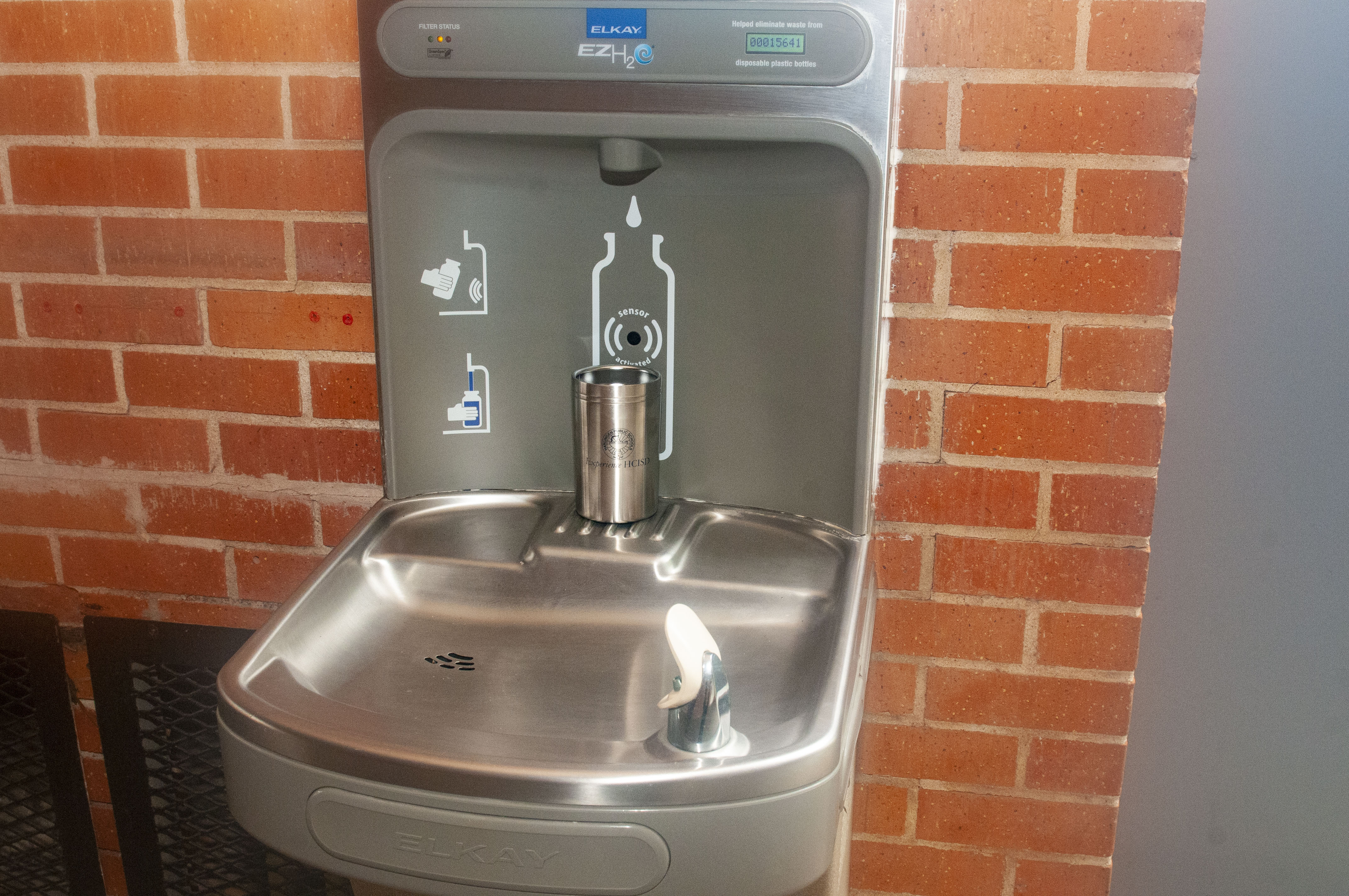 HCISD upgrades to hand-free water fountains