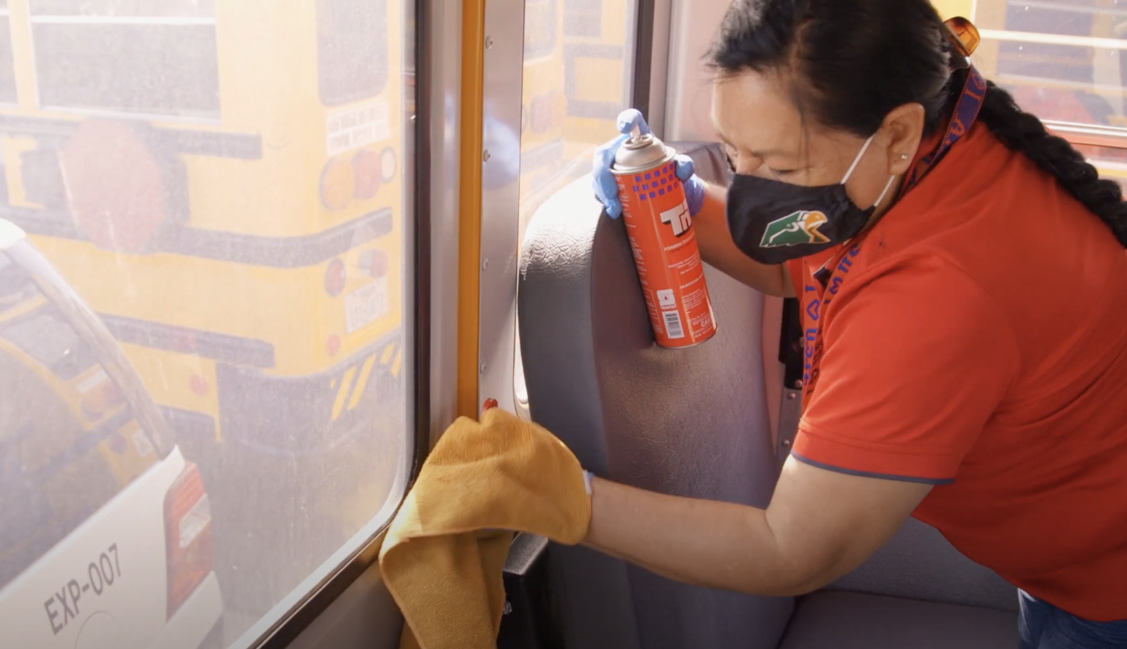Nuevos procedimientos de desinfección y distribución de asientos garantizarán autobuses más seguros.