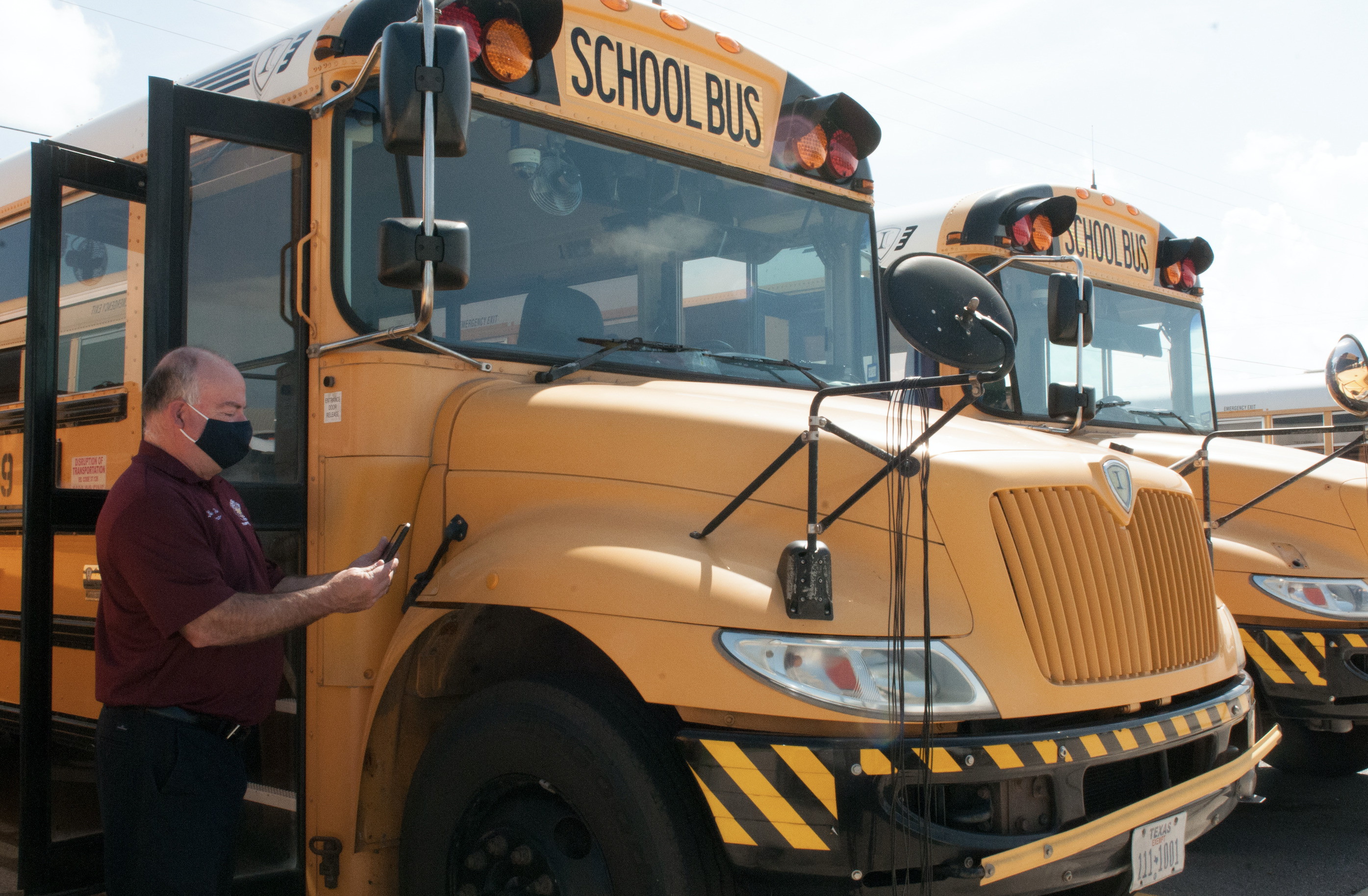HCISD installs Zonar equipment on all school buses