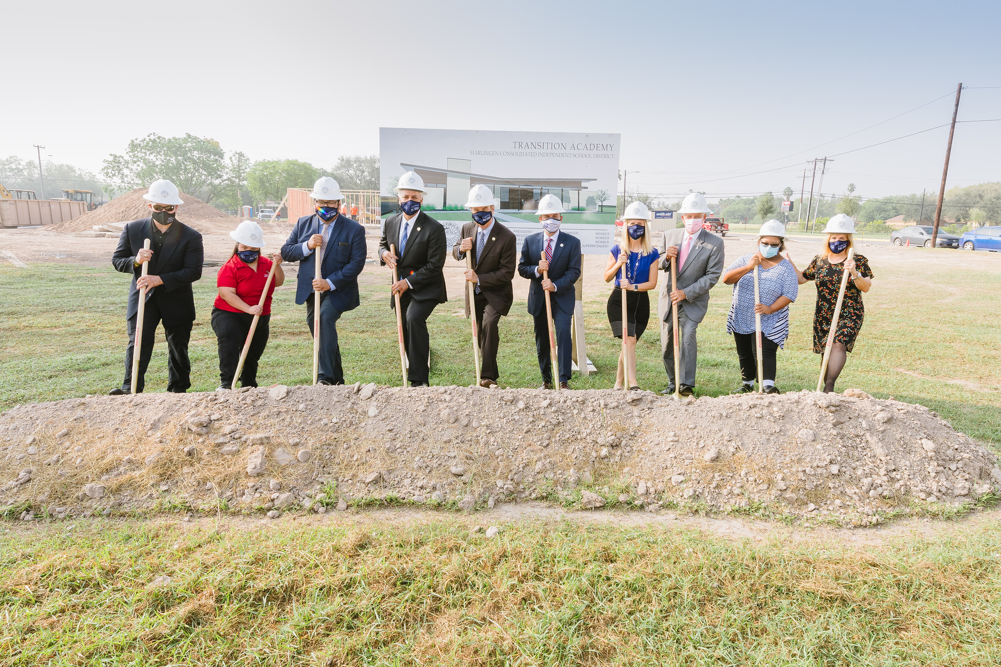 HCISD breaks ground on Transition Academy