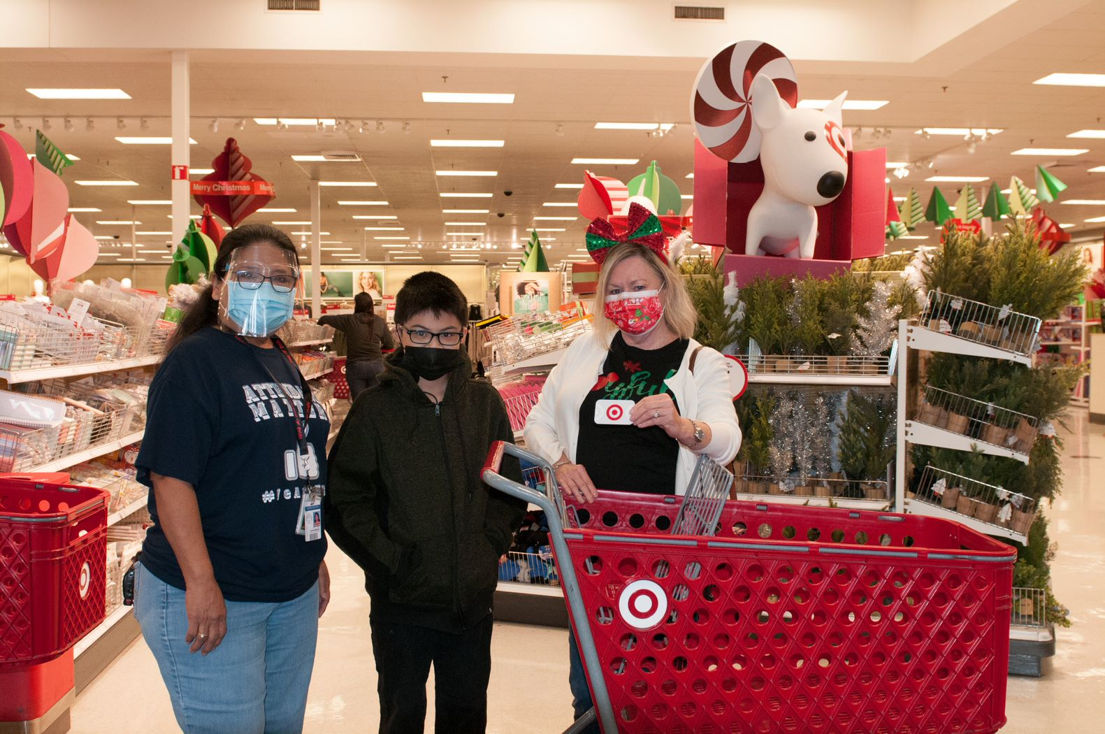 Rotary Club of Harlingen spreads holiday cheer with student shopping spree