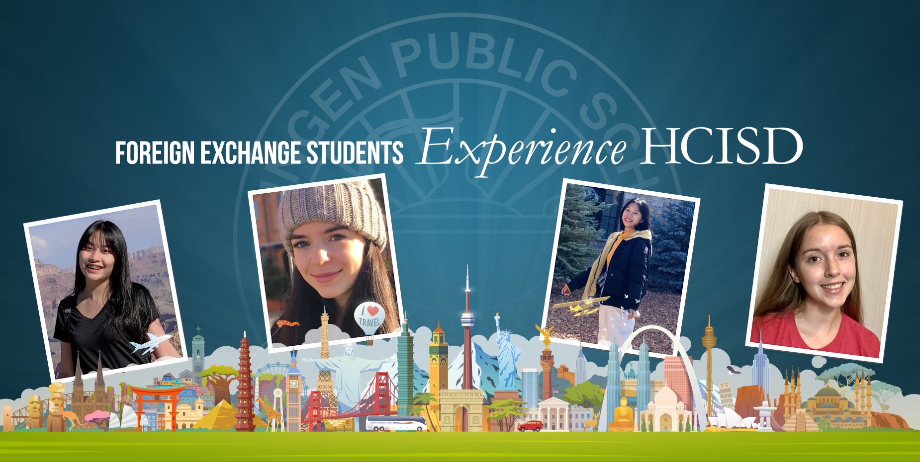Foreign exchange students experience HCISD