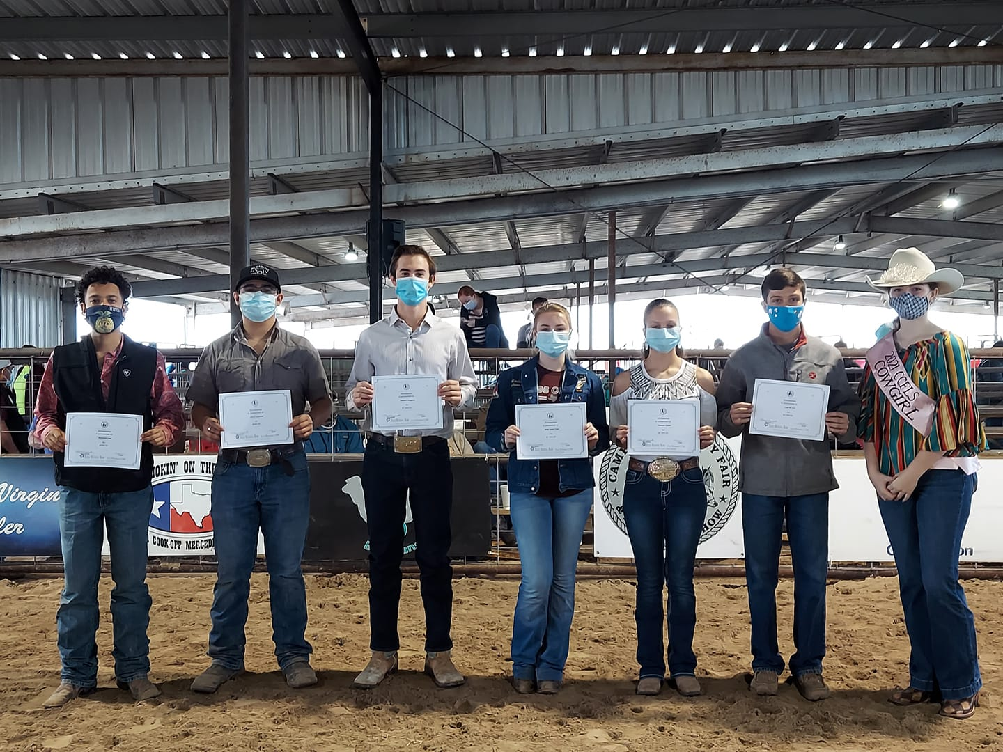 FFA members earn awards and scholarships at Cameron County Fair and Livestock Show
