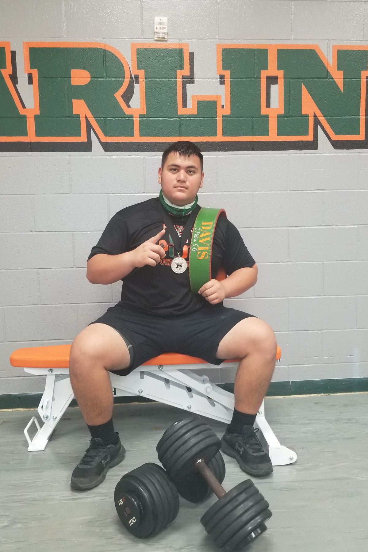 Hawk powerlifter advances to state