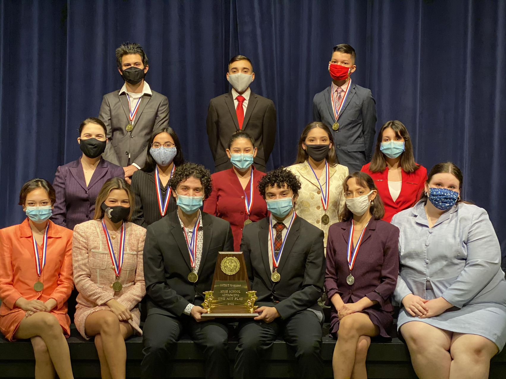 Harlingen High School wins first, South takes second at district One-Act Play