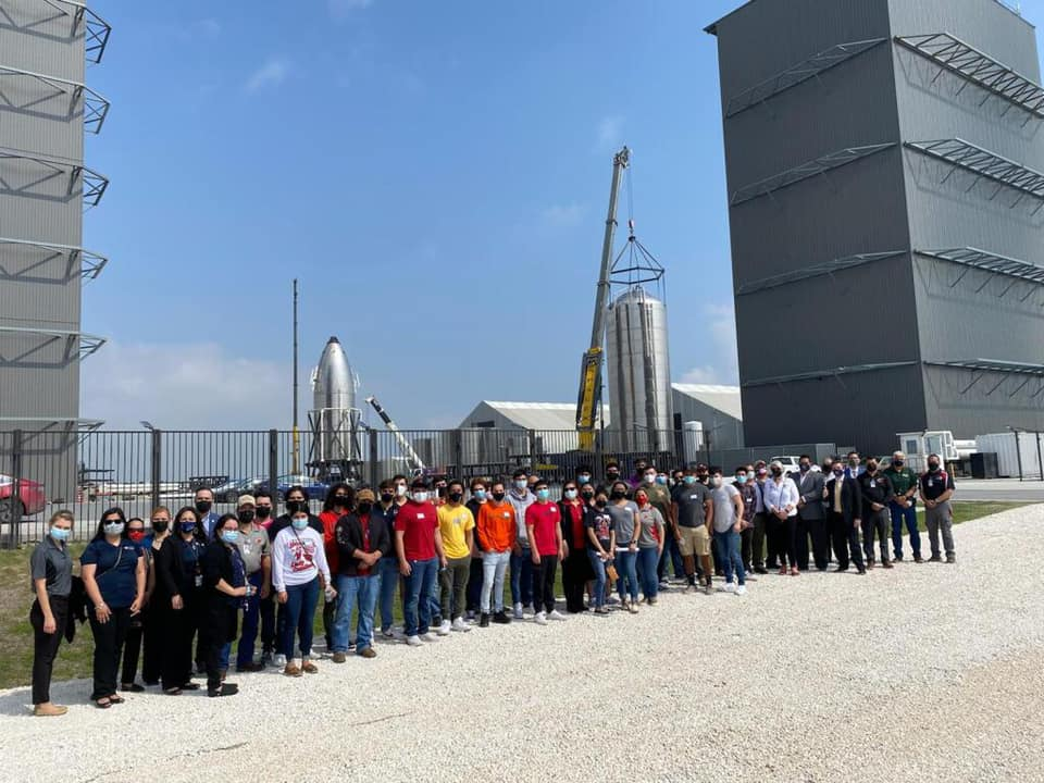 High school students explore future opportunities at SpaceX